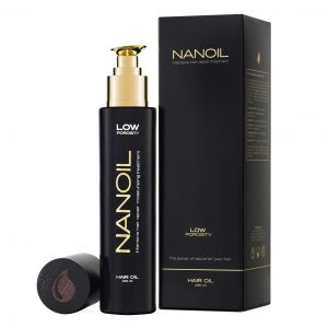 oil for hair Nanoil - how it works
